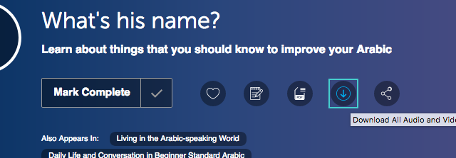 Arabic Pod 101 how to download podcasts