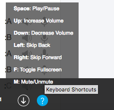 Arabic Pod 101 audio menu